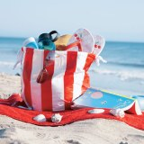 Getting Sticky with Duct Tape – Kid-Friendly DIY Beach Bag